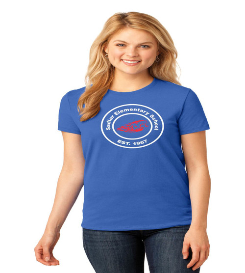 sadler ladies tee