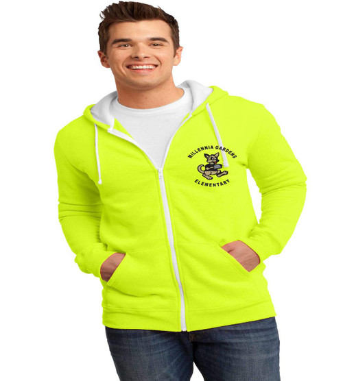 millennia gardens mens zip up