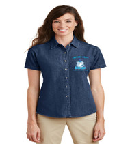 Gregory drive ladies short sleeve denim