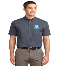 Gregory drive mens short sleeve button up