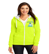 Gregory drive ladies zip up hoodie