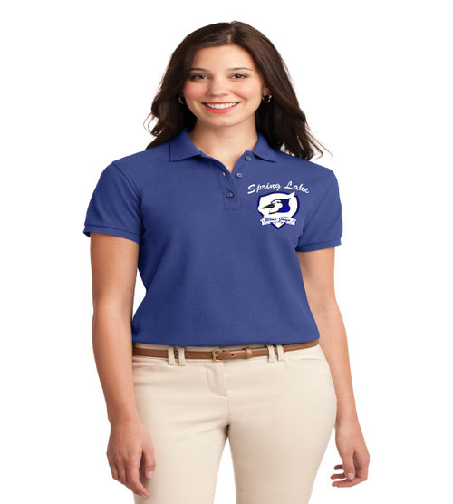 spring lake ladies basic polo