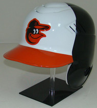 Baltimore Orioles White Front Rawlings Coolflo LEC Full Size Baseball Batting Helmet