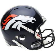 Denver Broncos Riddell Full Size Authentic Proline Helmet with G2B Mask (Like Peyton Manning Wears)