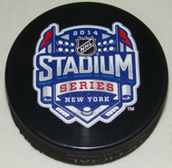2014 NHL Stadium Series New York Sherwood Souvenir Game Puck