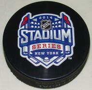 2014 NHL Stadium Series New York Sherwood Souvenir Game Puck