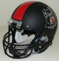 Fresno State Bulldogs Alternate Black Schutt Full Size Replica Helmet