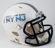 Super Bowl XLVIII 48 Replica SPEED Mini Helmet