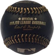 MLB BLACK & GOLD Rawlings Official Baseballs (Dozen)