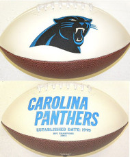 Signature Series NFL Carolina Panthers Autograph Full Size Football
