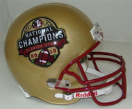 Florida State Seminoles 2013 BCS National Champions Special Riddell Full Size Replica Helmet