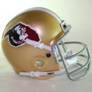 Florida State Seminoles 1975 Schutt Throwback Mini Authentic Helmet