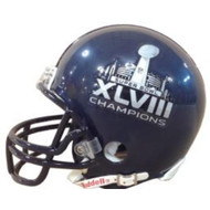 Seattle Seahawks Super Bowl XLVIII Champions Riddell Full Size Replica Helmet