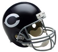 Chicago Bears Throwback 1962-73 Riddell Full Size Replica Helmet