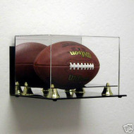 DELUXE FULL SIZE FOOTBALL WALL MOUNTABLE DISPLAY