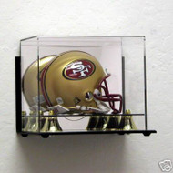 DELUXE MINI HELMET WALL MOUNTABLE DISPLAY