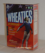 Wheaties 18 oz. Cereal Box Wall Mountable Deluxe Display Case