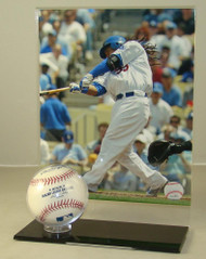 8 x 10 Vertical Photo and Baseball Display