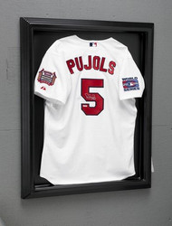 Excutive Acrylic Plastic Formed Black Back Jersey Display Case