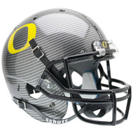 Oregon Ducks Schutt SPECIAL CARBON FIBER Full Size Replica Helmet