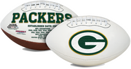 Signature Series NFL Green Bay Packers Autograph Full Size Football