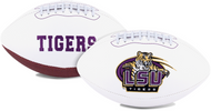 Signature Series NCAA LSU Tigers Autograph Full Size Football