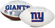 Signature Series NFL New York Giants Autograph Full Size Football