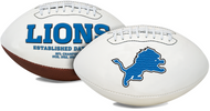 Signature Series NFL Detroit Lions Autograph Full Size Football