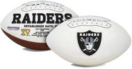 Signature Series NFL Oakland Raiders Autograph Full Size Football