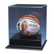 deluxe mini basketball display case no mirror - Basketball Display Case