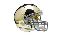 Notre Dame Fighting Irish Special GOLD CHROME Schutt Full Size Replica Helmet