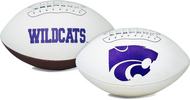 Signature Series NCAA Kansas State Wildcats Autograph Full Size Football