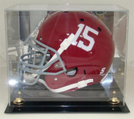 DELUXE FULL SIZE FOOTBALL HELMET DISPLAY (Made in the USA)