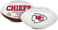 Signature Series NFL Kansas City Chiefs Autograph Full Size Football