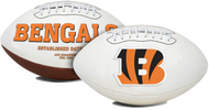 Signature Series NFL Cincinnati Bengals Autograph Full Size Football