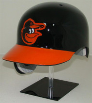 Baltimore Orioles Black/Orange Rawlings Classic REC Full Size Baseball Batting Helmet