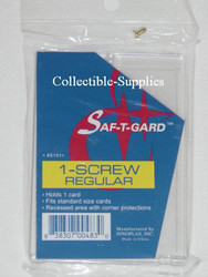 1-Screw REGULAR Card Holders (50 count Case)