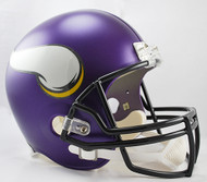 Minnesota Vikings Matte Purple Riddell Full Size Replica Helmet