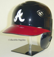 Atlanta Braves Navy/Red Home Rawlings Coolflo LEC Full Size Baseball Batting Helmet