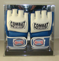 Double UFC / MMA Fight Glove Display Case with Mirror