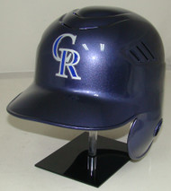 Colorado Rockies Purple Rawlings LEC Full Size Baseball Batting Helmet