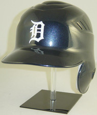 Detroit Tigers (White Logo) Home Rawlings Coolflo LEC Full Size Baseball Batting Helmet