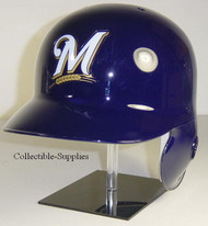 Milwaukee Brewers Rawlings LEC Full Size Baseball Batting Helmet