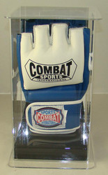 Single UFC / MMA Fight Glove Wall Mountable Display Case