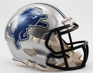 Detroit Lions 2009 to 2016 Revolution SPEED Mini Helmet