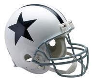 Dallas Cowboys White Riddell Full Size Authentic Proline Helmet