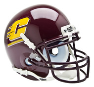 Central Michigan Chippewas Schutt Mini Authentic Helmet