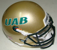 UAB Alabama-Birmingham Blazers Schutt Mini Authentic Helmet