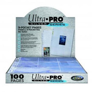 1 full case of 1000 Ultra-Pro Premium 9-card - Silver Pocket Pages
