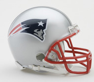 New England Patriots Riddell Mini Helmet